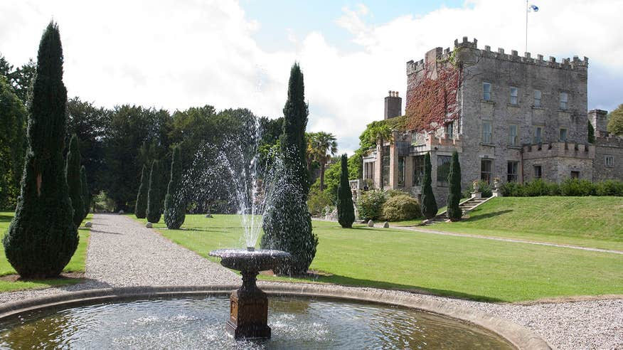 Stroll around Huntington Castle Gardens.