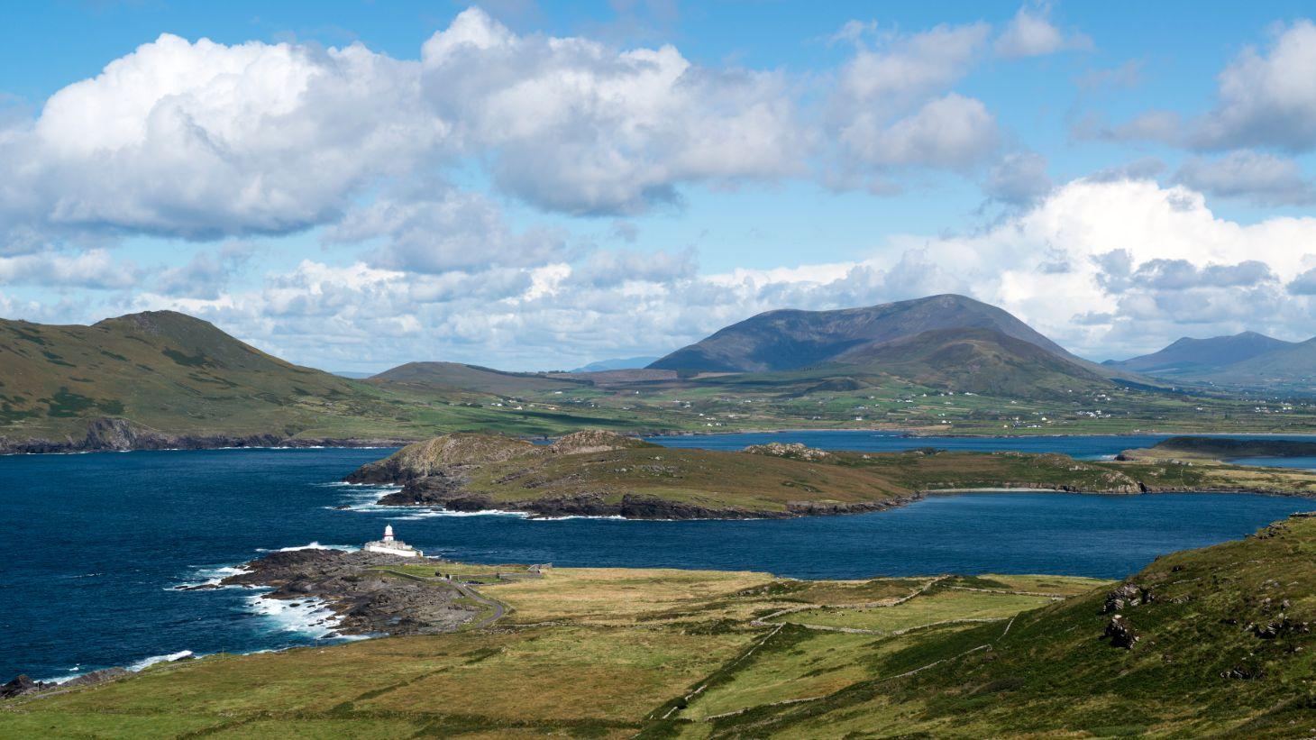 Walk in the footsteps of dinosaurs on Valentia Island.