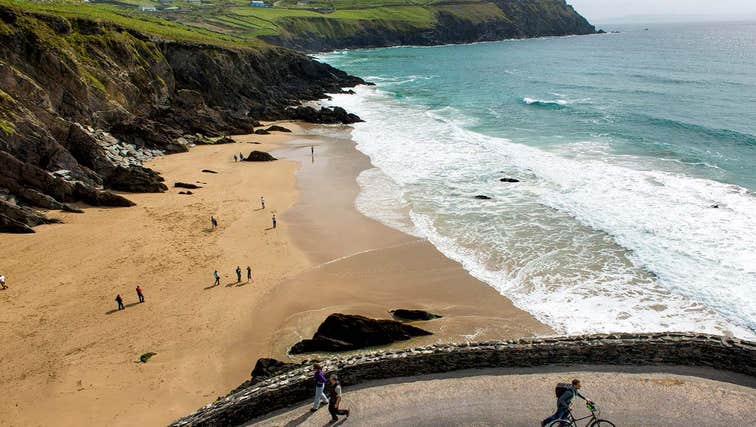 Image of Coumeenoole Beach in County Kerry