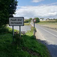Image of a sign in Fethard in County Wexford