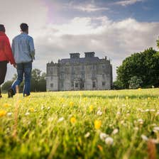 Image of a couple on the castle grounds in Portumna in County Galway