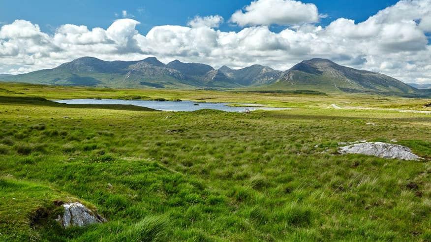 Walk through truly incredible scenery in Connemara National Park.