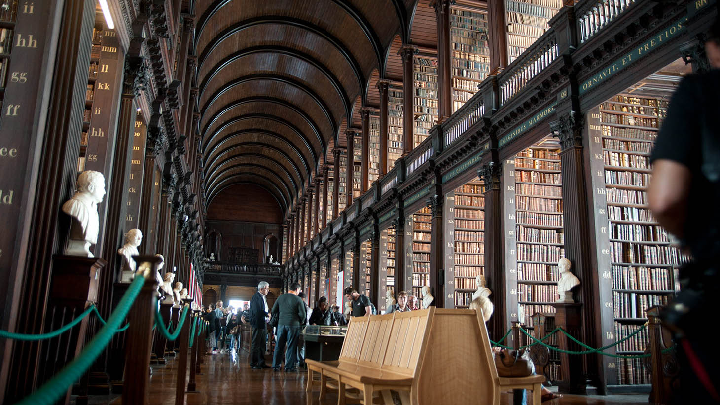 Enjoy the majestic splendour of Trinity College and see The Book of Kells.