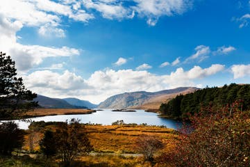 A sunny day at Glenveagh National Park, Letterkenny Donegal