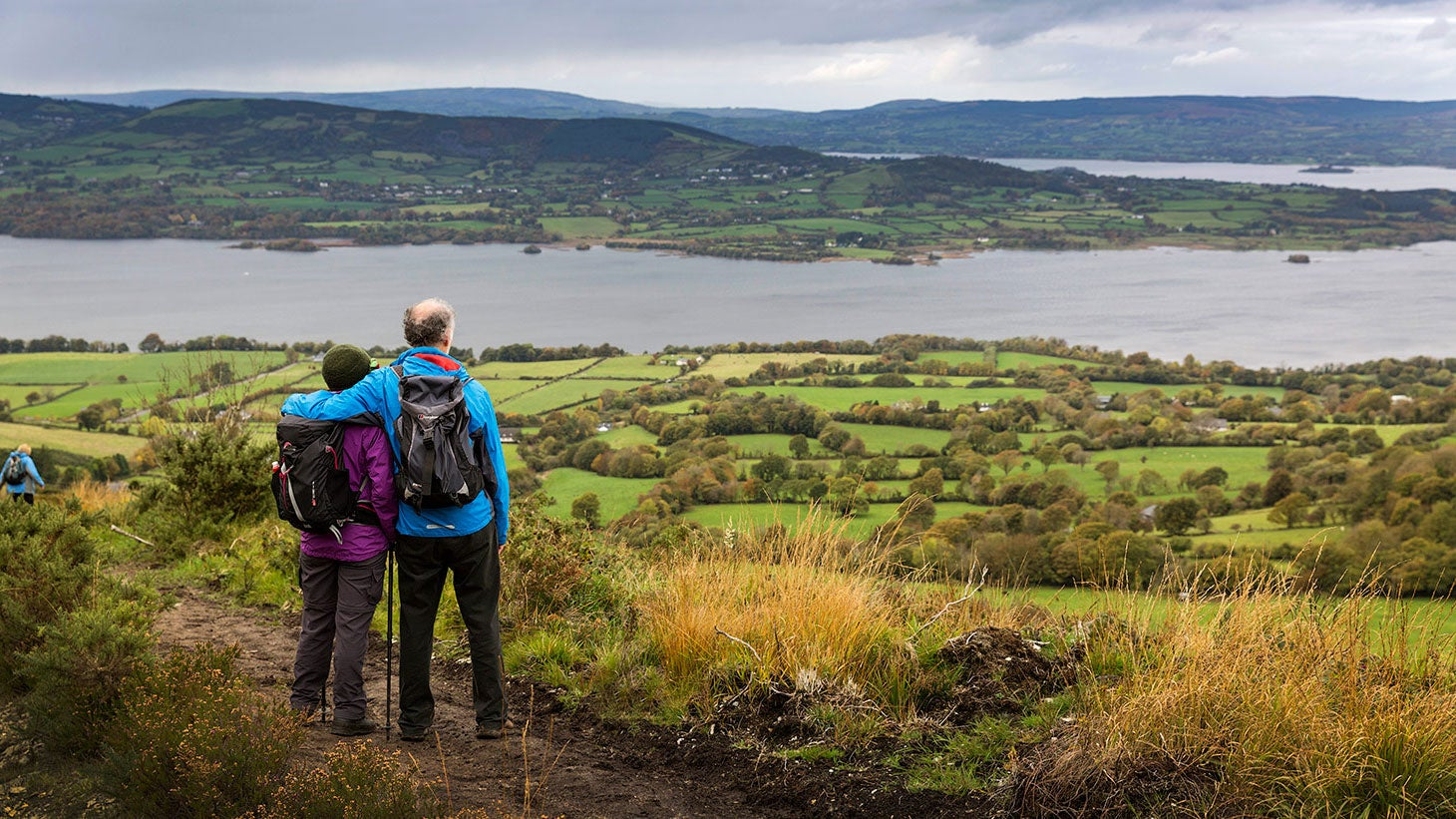 Take in the panoramic views of Lough Derg.
