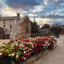 Image of flowers in Ennis in County Clare
