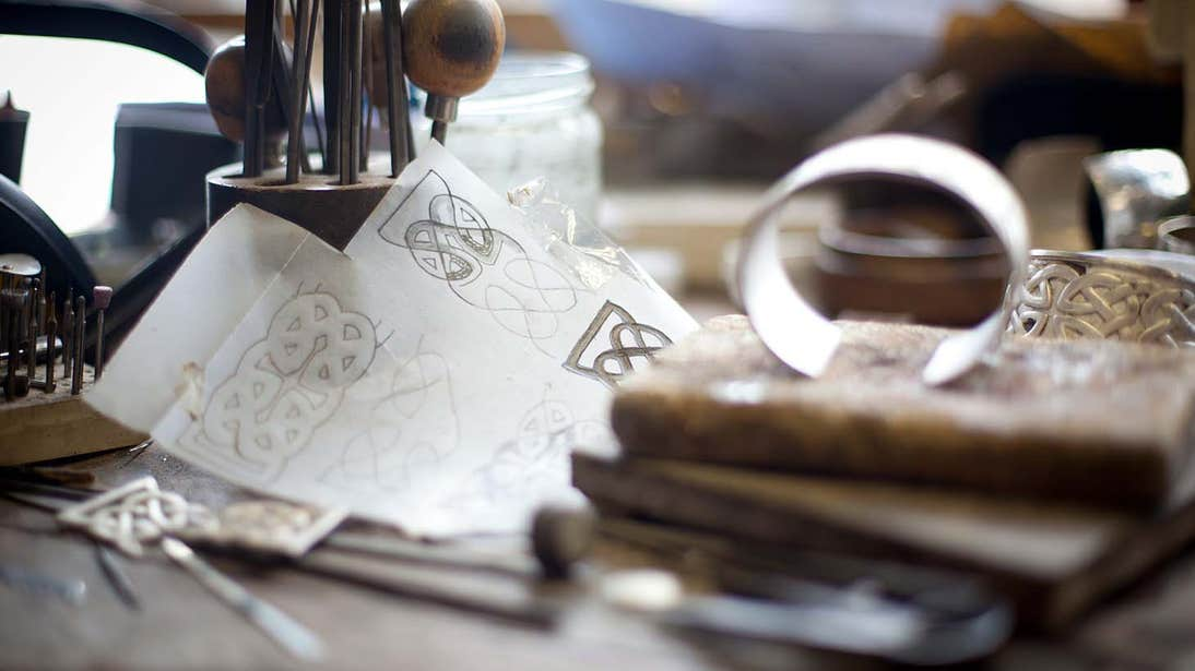 Art materials at the Kilkenny Design Centre