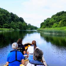 Image of people on a boat in County Meath