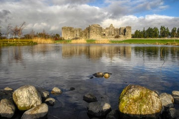 Image of castle ruins in Roscommon Town in County Roscommon