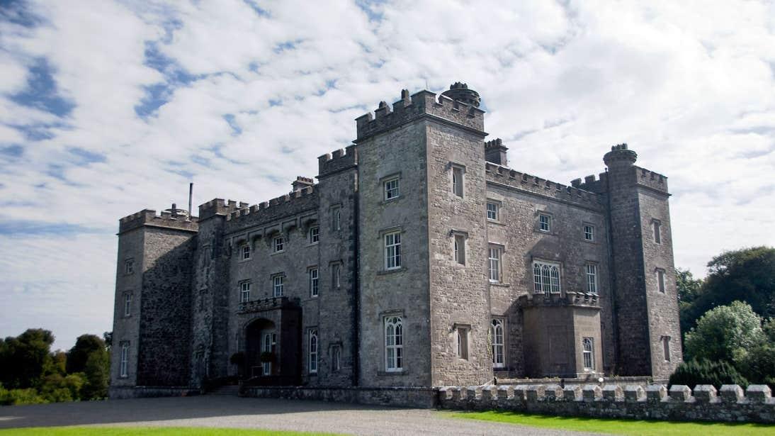 The exterior of Slane Castle, Boyne Valley, County Meath
