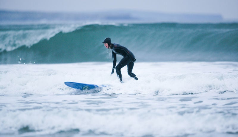 Have somewave-splashing fun in Strandhill, County Sligo