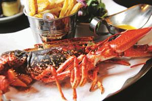Rock Lobster @ Harvey Nichols