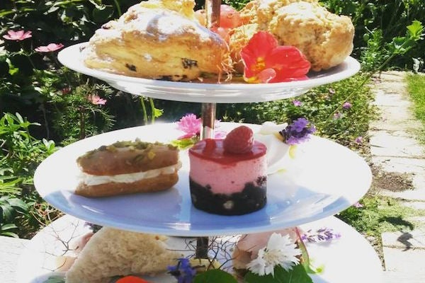 Truly seasonally inspired Afternoon Tea made from ingredients grown in our own food garden.