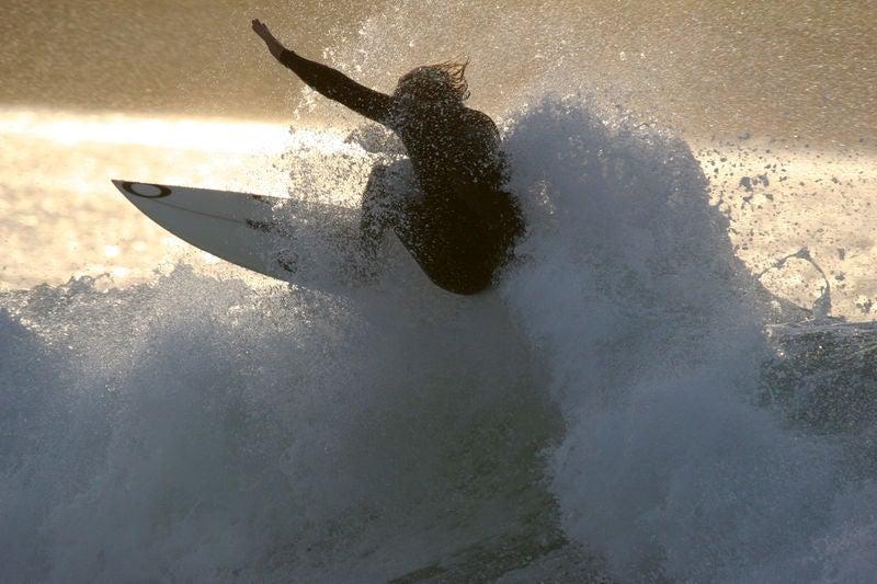 Take a surfing lesson atStrandhill.