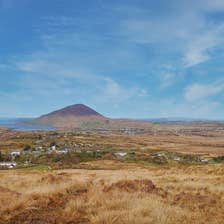 A scenic shot of Letterfrack in County Galway