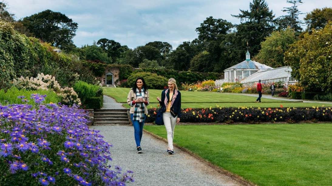 People walking around Mount Congreve Gardens Co. Waterford
