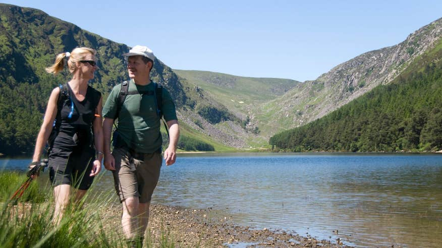 Experience one of Ireland's most popular hikes on the Wicklow Way.
