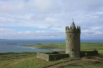 Image of Doonagore Castle in Doolin in County Clare