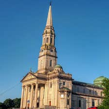 Image of a church in Cavan town in County Cavan