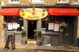 Mexico to Rome