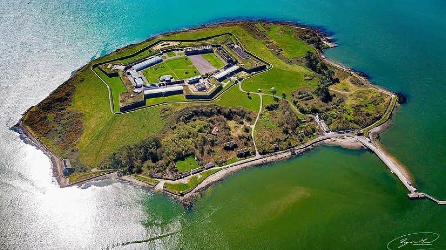Explore Spike Island in Cobh, County Cork.
