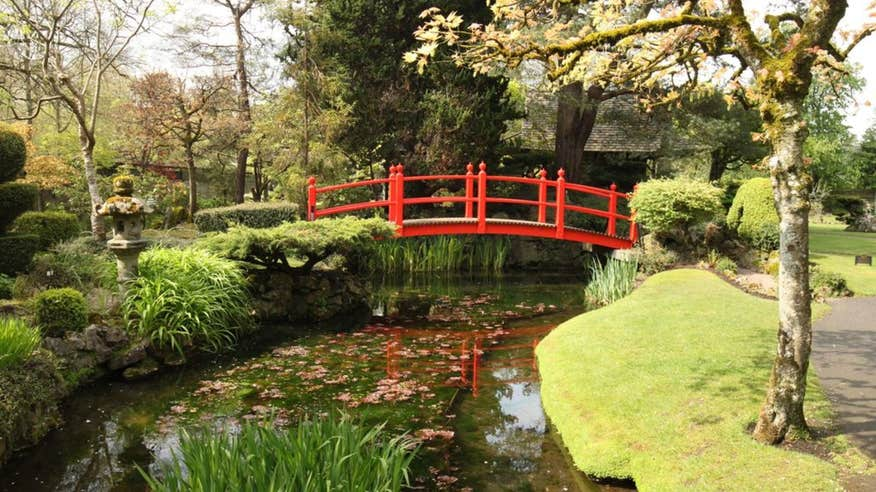 Visit the enchanting gardens at The National Stud.