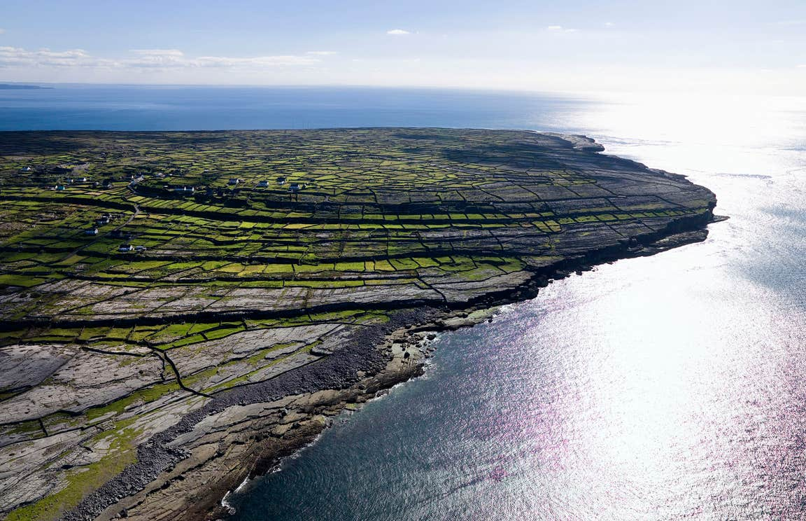 A sunny day on Inishmaan, Aran Islands, Co Galway
