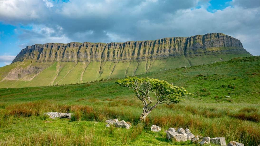 A summer's day at Benbulben, County Sligo