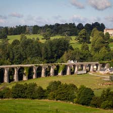 Image of a viaduct in Borris Town in County Carlow