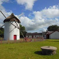 Image of Windmill and blueskys