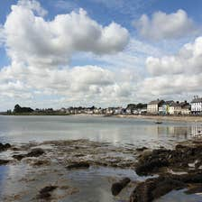 View of the water at Blackrock, County Louth