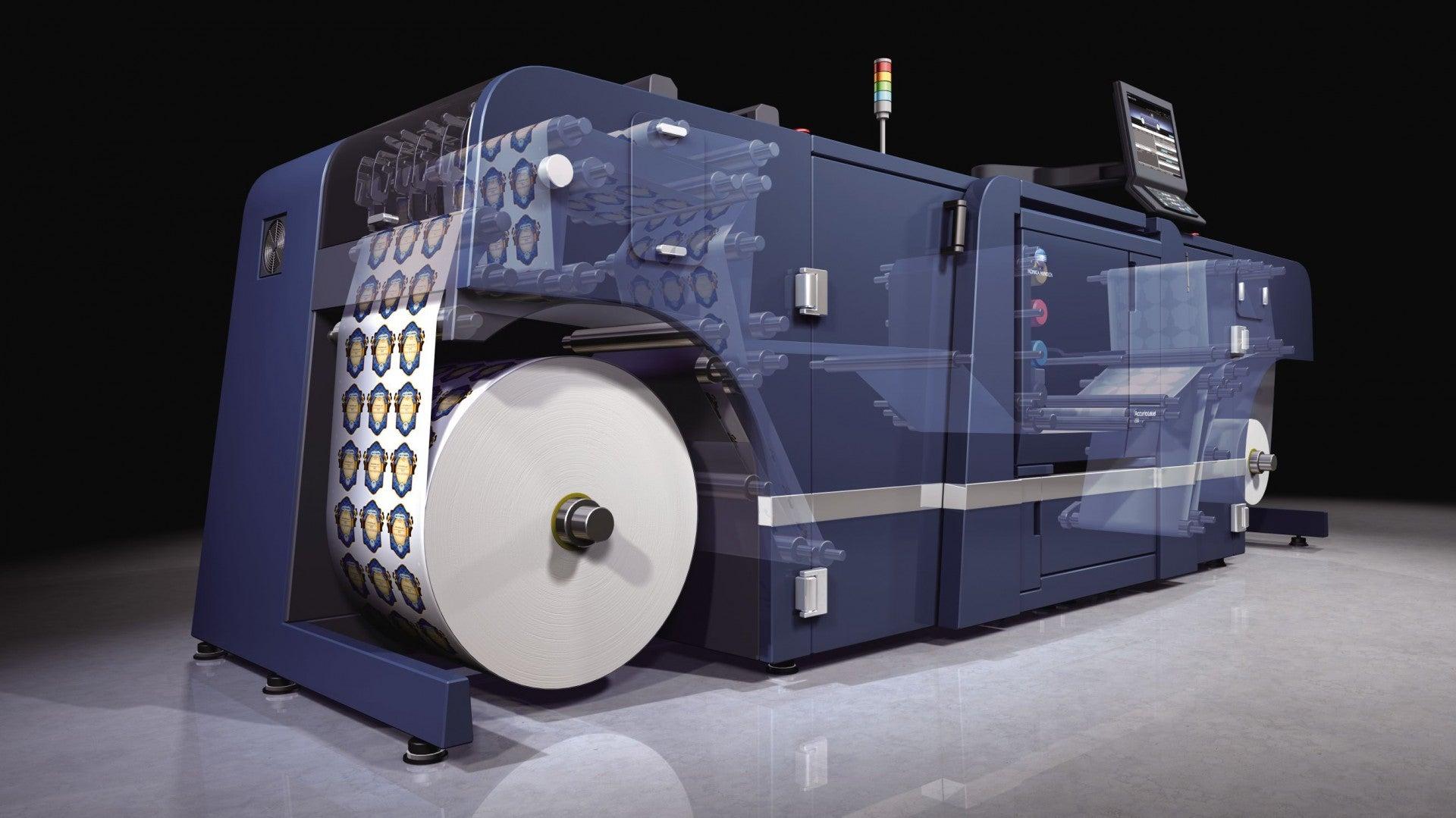 Konica Minolta представить повний виробничий процес друку етикетки на AccurioLabel 230